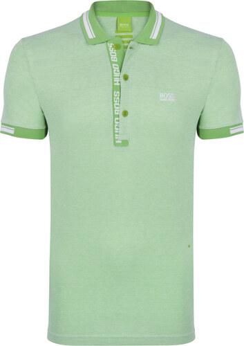 ad449c04c Zeleno-biela prémiová polokošeľa od Hugo Boss - Glami.sk