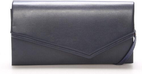 c2df97d568 Originálna dámska listová kabelka tmavomodrá matná - Delami Phoenix modrá