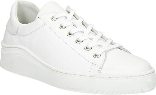 Baťa Bílé kožené tenisky - Glami.cz ca44667016