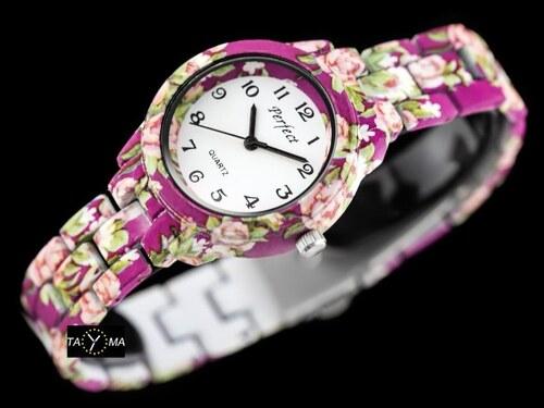 Hodinky PERFECT - FLOWERS - Glami.cz 426b6a34900