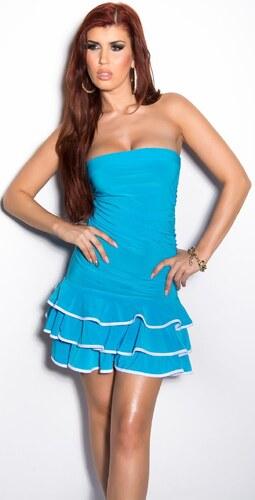6b1109a3ce79 In-Style Letné mini šaty s volánmi - Glami.sk