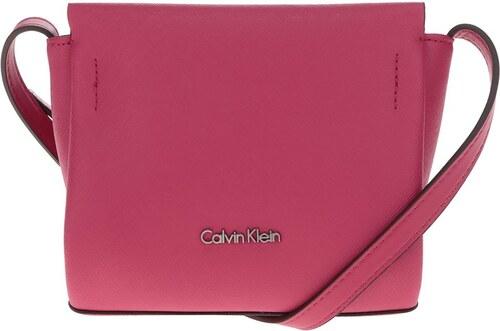 7acd092096 Růžová malá crossbody kabelka Calvin Klein Jeans Marissa - Glami.cz