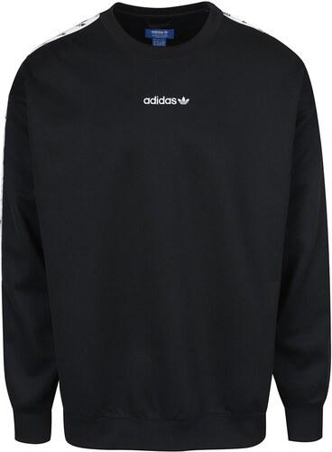 Čierna pánska mikina adidas Originals - Glami.sk 21718beb3ae