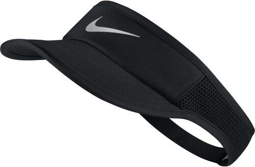 Dámská čepice Nike W NK AROBILL FTHRLT VISOR ADJ BLACK BLACK BLACK METALLIC 1baf211453