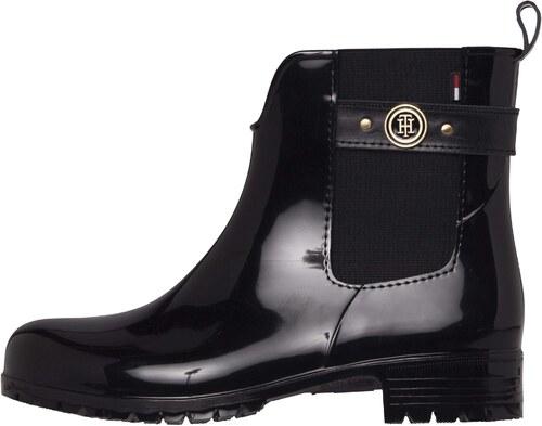 Tommy Hilfiger čierne členkové gumáky Oxley 13R Black - Glami.sk 7cf1b29858