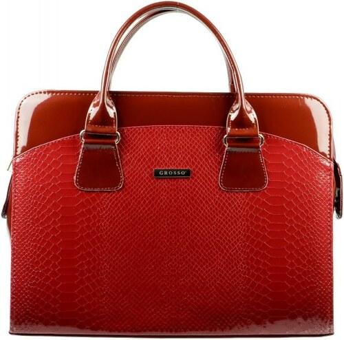 GROSSO BAG červená kabelka - Glami.cz 963481b96f6