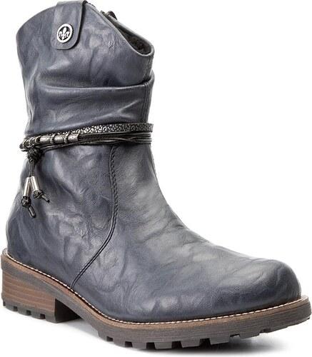 Magasított cipő RIEKER - Z0471-14 Blue - Glami.hu dd4d392fef