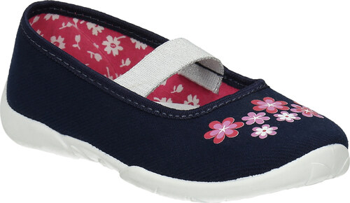 ee4520fa3e41 Mini B Domáca obuv s kvietkami - Glami.sk