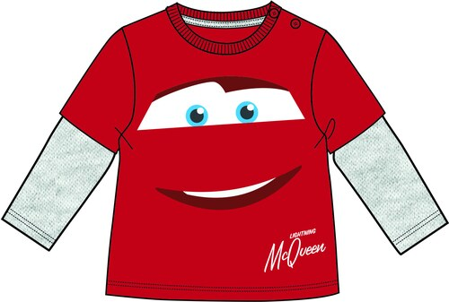 e1ec4bb2a9b3 Disney by Arnetta Chlapčenské tričko Cars - červené - Glami.sk