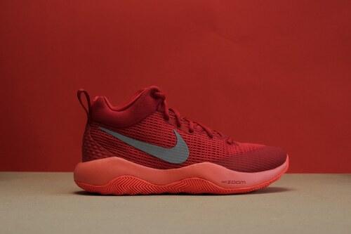 Pánské basketbalové boty boty Nike ZOOM REV UNIVERSITY RED REFLECT SILVER b016758372
