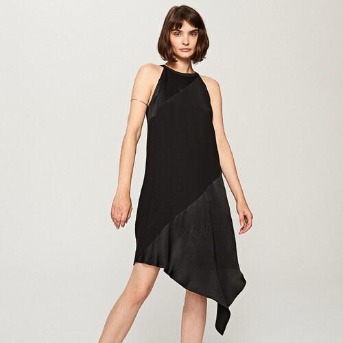 72618e747a Reserved - Aszimmetrikus ruha - Fekete - Glami.hu