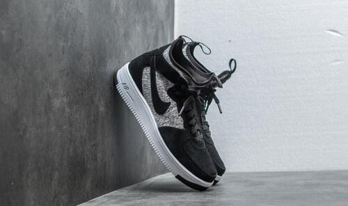 Nike Air Force 1 Ultraforce Mid Premium Black  Black-White - Glami.sk ec075c23ea5