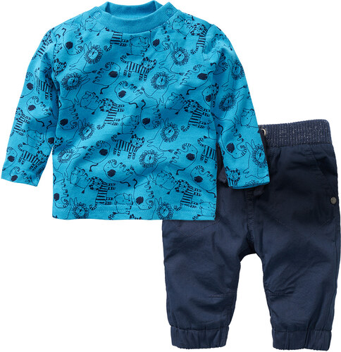 04bdcee5b Topolino Topomini novorodenecký set (nohavice a tričko s dlhým rukávom)
