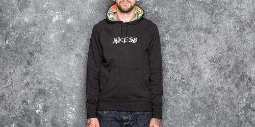 34c859f94756a Nike SB Dry Everett Quilt Hoody Black - Glami.sk