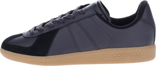 830c521bb Černé pánské kožené tenisky adidas Originals BW Army - Glami.cz