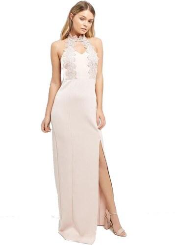 be55e627524d NEW LOOK Elegantné ružové maxi šaty - Glami.sk