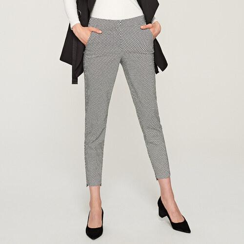 65d0f5dea76f Reserved - Vzorované nohavice s pukmi - Viacfarebn - Glami.sk