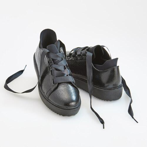 ad5c1844ef Reserved - Športové topánky na platforme - Čierna - Glami.sk