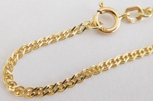 af494465f Pretis Pevný pánský zlatý náramek ze žlutého zlata (ROMBO) 585/1,25gr