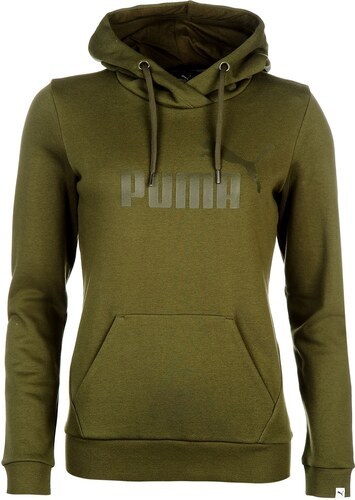 mikina Puma No1 Logo dámská Hoody Olive - Glami.cz 8241af6dfed