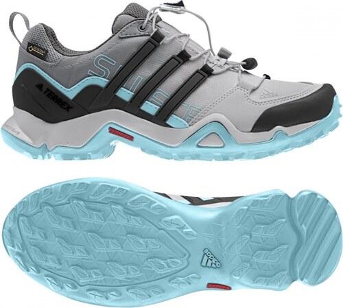 Outdoorové topánky adidas Performance TERREX SWIFT R GTX W (Šedá   Čierna    Modrá) 04e4fe7f8ba