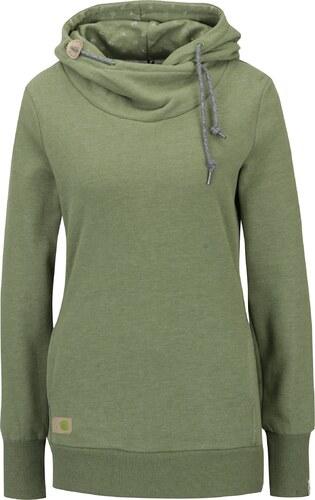 Zelená dámska žíhaná mikina s kapucňou Ragwear Chelsea Beat Organic ... 4eb93114c84