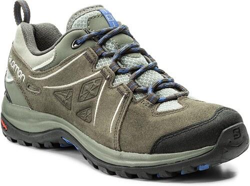 d779327a35e Trekingová obuv SALOMON - Ellipse 2 Ltr W 398538 Shadow Beluga Amparo Blue