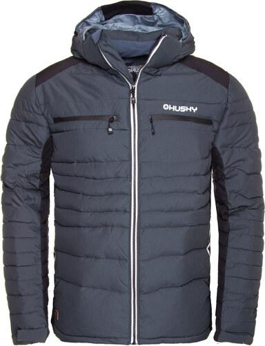 33695512403e Zimní bunda pánská HUSKY NOREL M Antracit černá - Glami.sk