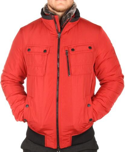 Tommy Hilfiger pánská červená bunda Bob - Glami.sk fe2d4bb9542