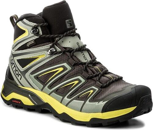 Trekingová obuv SALOMON - X Ultra 3 Mid Gtx GORE-TEX 398673 26 V0 Beluga 53e02dd796f