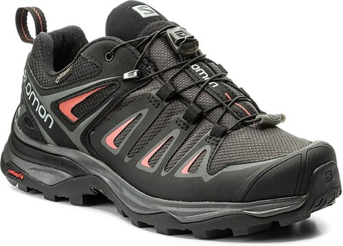 Bakancs SALOMON - X Ultra 3 Gtx W GORE-TEX 398685 20 V0  Magnet Black Mineral Red 3d3251e21c