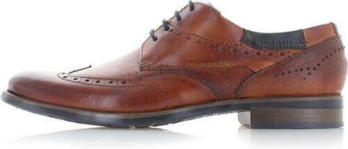 54885de552 Pánske škoricové topánky Bugatti Aldo - Glami.sk