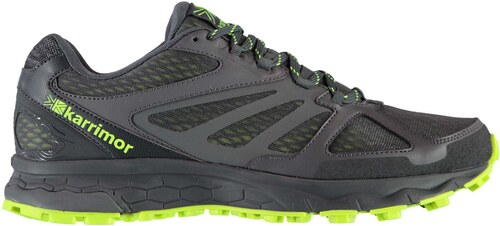 official photos da9cf 6ff9a boty Karrimor Tempo 5 pánské Trail Running Shoes Grey/Lime ...