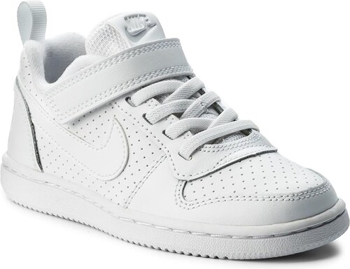 5b30aa4f0a Boty NIKE - Court Borough Low 870025 100 White White - Glami.cz
