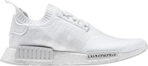 31c8b48e27ce adidas Originals adidas NMD R1 Primeknit Triple White biele BZ0221 ...