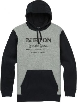 fea89a5f4c0 Pánská mikina Burton Durable goods true black   gray heather - Glami.cz