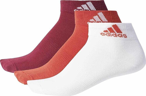 Dámské vícebarevné kotníkové ponožky ADIDAS Performance Ankle T 3PP ... d256e0d84c