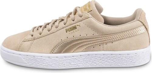 Puma Suede W Safari Metallic Beige Baskets/Tennis Femme nRC3r