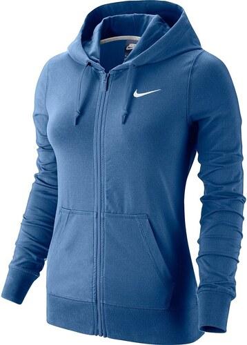 f93fa754a85 Mikina s kapucí Nike W NSW HOODIE FZ JRSY 614829-494 - Glami.cz