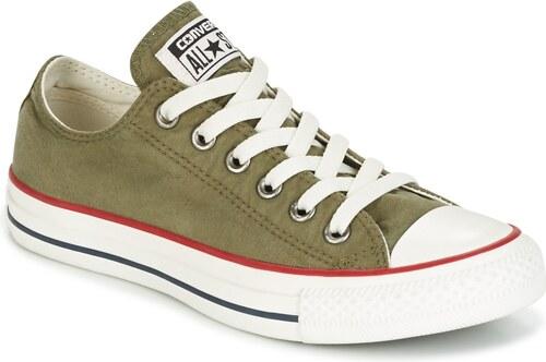 Converse Rövid szárú edzőcipők CHUCK TAYLOR ALL STAR OMBRE WASH OX MEDIUM  OLIVE GARNET  22f63bde43