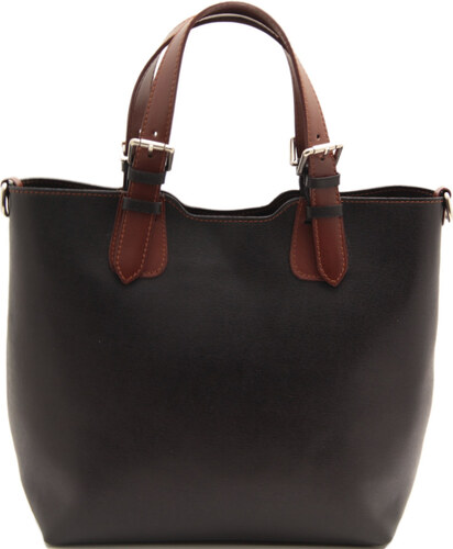 6704989b17a TL Bag-Texturovaná kožená kabelka TUSCANY LEATHER - Černá - Glami.cz