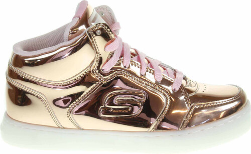 Skechers S Lights Energy Lights Dance-N-Dazzle rose gold 10771L RSGD ... 64ac429dac1