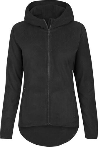 Dámská mikina Urban Classics Ladies Polar Fleece Zip Hoody black ... 12a31330d7