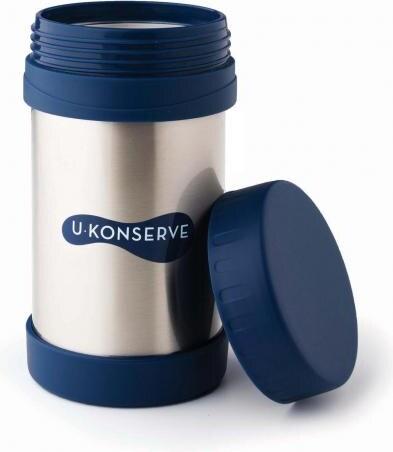 Kids Konserve - U Konserve Termoska na jídlo - nerezová - Navy 470 ... 4a863b97e5f