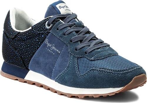 Sneakersy PEPE JEANS - Verona W Flash PLS30538 Purpleberry 465 ... 09afc36da4
