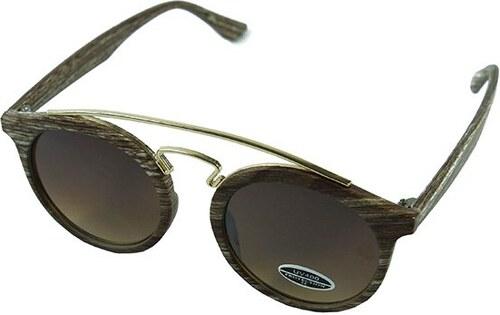 cd57dee83 MISDA Slnečné okuliare Palm Springs – svetlé drevo - Glami.sk