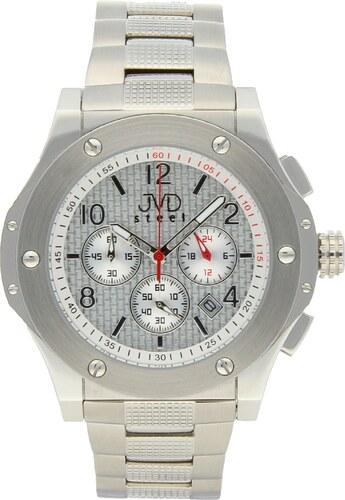 Luxusní pánské chronografy - vodotěsné hodinky Steel JVDC 732.1 ... f40b4a54034