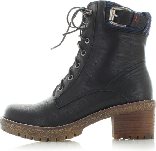 c16856aa0b Čierne členkové topánky Refresh 63753 - Glami.sk