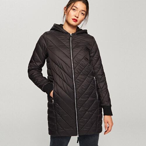 Reserved - Steppelt kapucnis kabát - Fekete - Glami.hu 544e3c7c9e