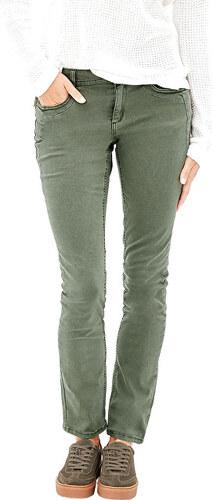 c2a7ecbd960e s.Oliver Dámske zelené nohavice Slim dĺžka 32 - Glami.sk